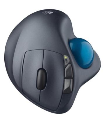 Logitech M570 Trackball Mouse schwarz - 4