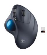 Logitech M570 Trackball Mouse schwarz - 1