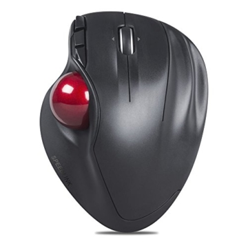 SPEEDLINK Aptico kabellose Trackball Maus (Daumensteuerung, 5-Tasten, 1600 dpi) schwarz - 2