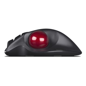 SPEEDLINK Aptico kabellose Trackball Maus (Daumensteuerung, 5-Tasten, 1600 dpi) schwarz - 3